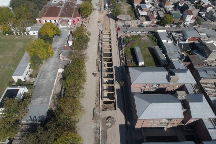Desvíos de tránsito por obra hidráulica en el Bajo Flores