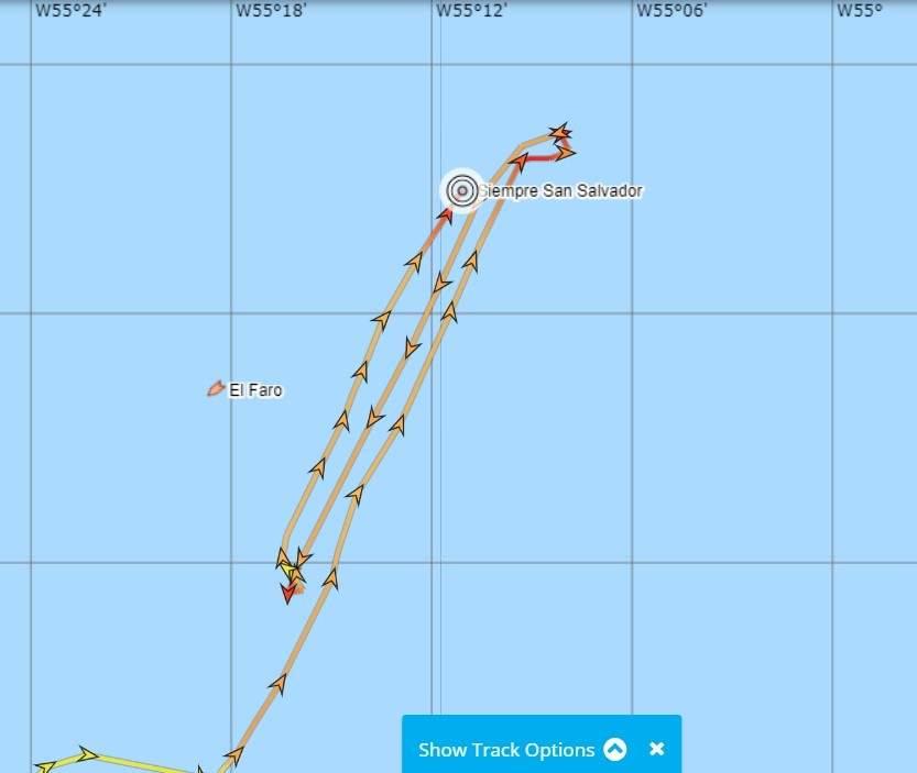Naufragio y rescate en Mar del Plata